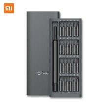 Оригинальный Набор прецизионных отверток Xiaomi Mijia Wiha 24 в 1 60HRC магнитные биты Xiaomi домашний комплект ремонтные инструменты Xiomi Mijia