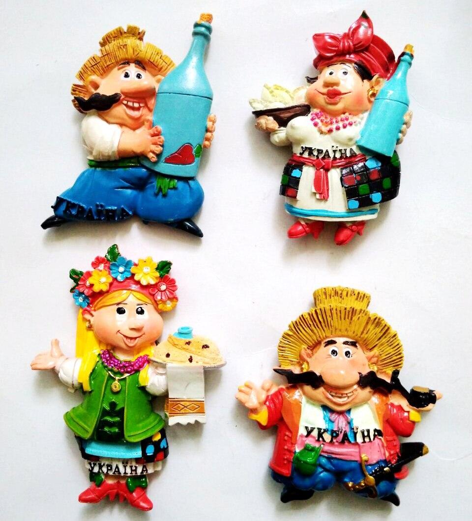 Лидер продаж Русский нации Творческий 3D магниты на холодильник World Travel Сувениры холодильник магнитная Стикеры дома decortion