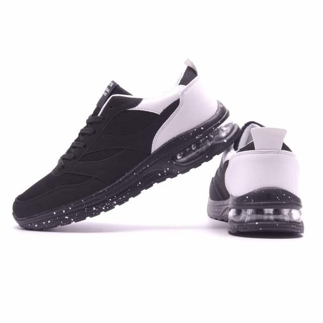 2c4ac919f60e Joomra marque chaussures de Sport de course à lacets baskets Sport EVA  taille 39 45 antidérapant fond Net Surface Simple baskets d'extérieur hommes  dans ...