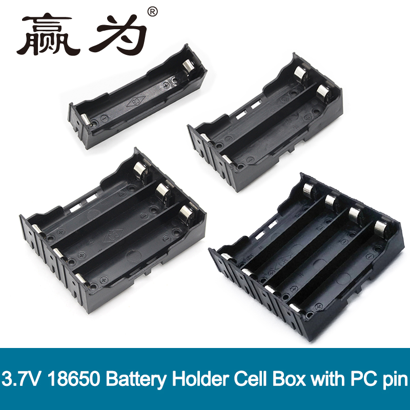 Power Bank Battery Holder Plastic Battery Storage Box Case for 1x 2x 3x 4x 18650 Battery Charger Fast USB 1/2/3/4 Slots Charger цена
