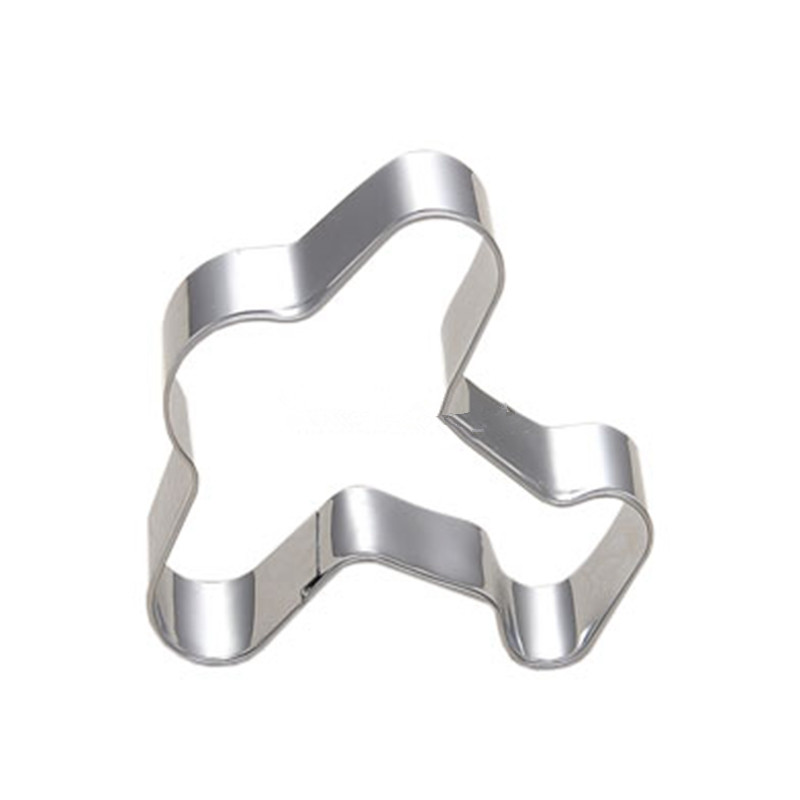 Airplane Boy Birthday Party Decoration Cookie Cutter Mould Cake Decorating Tools Stainless Steel Fondant Gadget Kitchen Stamp image