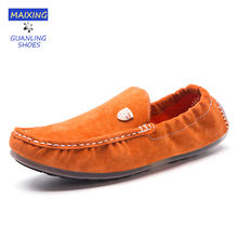 Girls Informal Sneakers Leisure Real Leather-based Boat Sneakers Comfy Driving Flats Girls's Sneakers Unisex Loafers Social gathering 2017 Trend