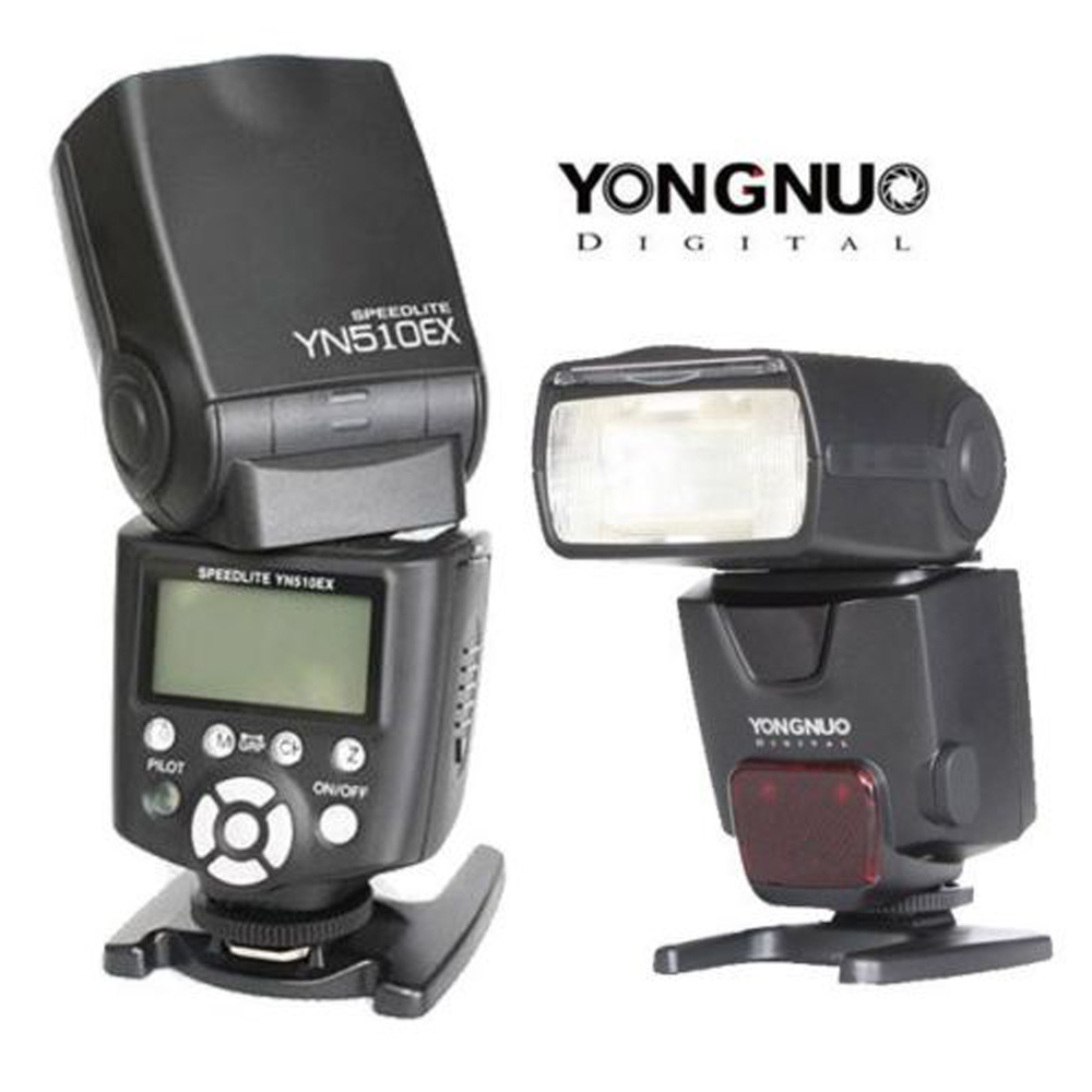US $88 0 |Yongnuo YN 510EX YN510EX Wireless i TTL E TTL Slave Manual Flash  Speedlight For Nikon D3100 D5100 For Canon 650D 550D 7D Camera-in Flashes