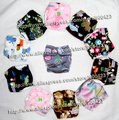 washable newborn baby cloth nappy 1pcs cloth diaper+1pcs inserts