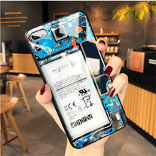 Personality motherboard glass case for iPhone 7 Plus 7Plus 8 8Plus 6s iPhone7 iPhone8 Cover for iPhone XS MAX XR 10 Glass Case цена и фото