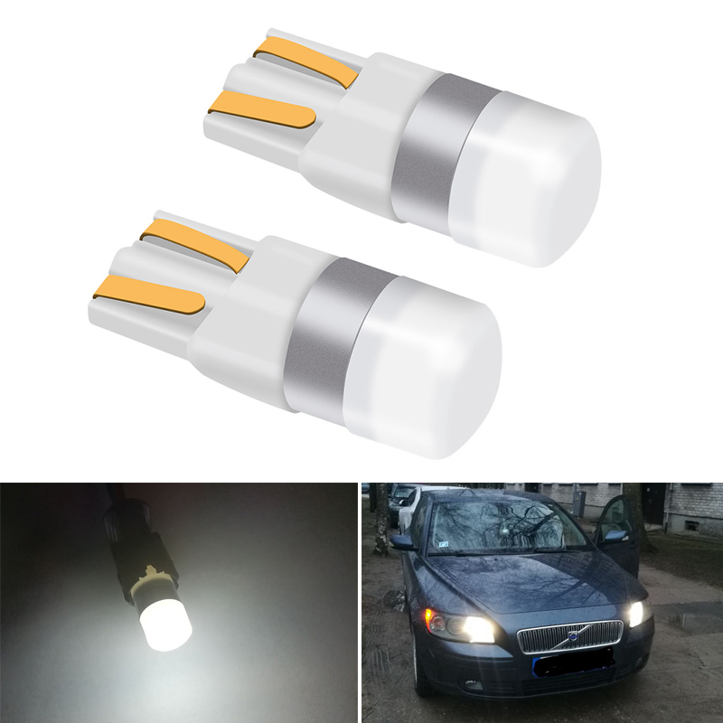 2x CANBUS NO OBC ERROR W5W <font><b>T10</b></font> <font><b>LED</b></font> <font><b>Bulbs</b></font> <font><b>Car</b></font> Interior Lights For Volvo XC90 S60 XC60 V70 S80 V40 S40 V50 V60 XC70 C30 XC40 S90 image