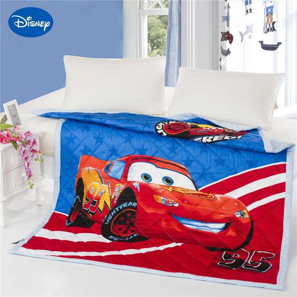 Incroyable Disney Lightning McQueen voiture 3D imprimé couette couette literie coton lit écarte couverture enfants garçons enfant chambre ensemble