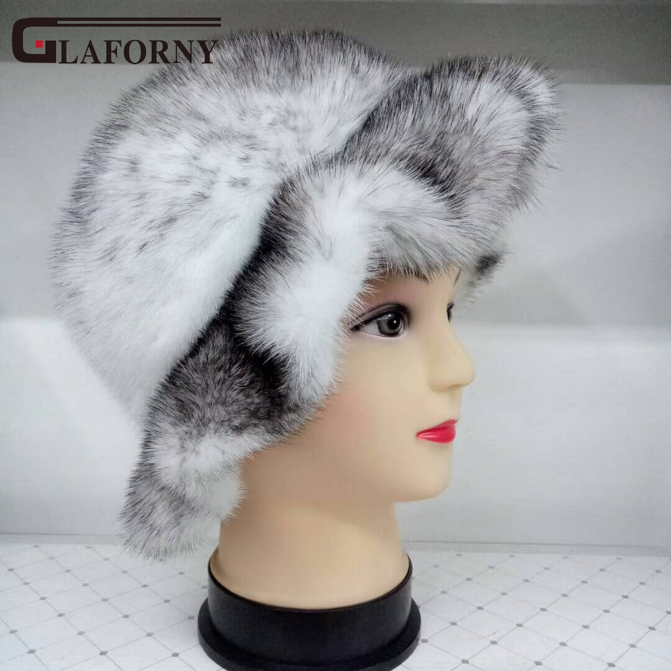 Glaforny 2017 New Arrival Whole Mink Fur Hats Women Fashion Real Fur Caps Winter Cool Warm Beanies Female new 2014 cool wrc sport style car whole