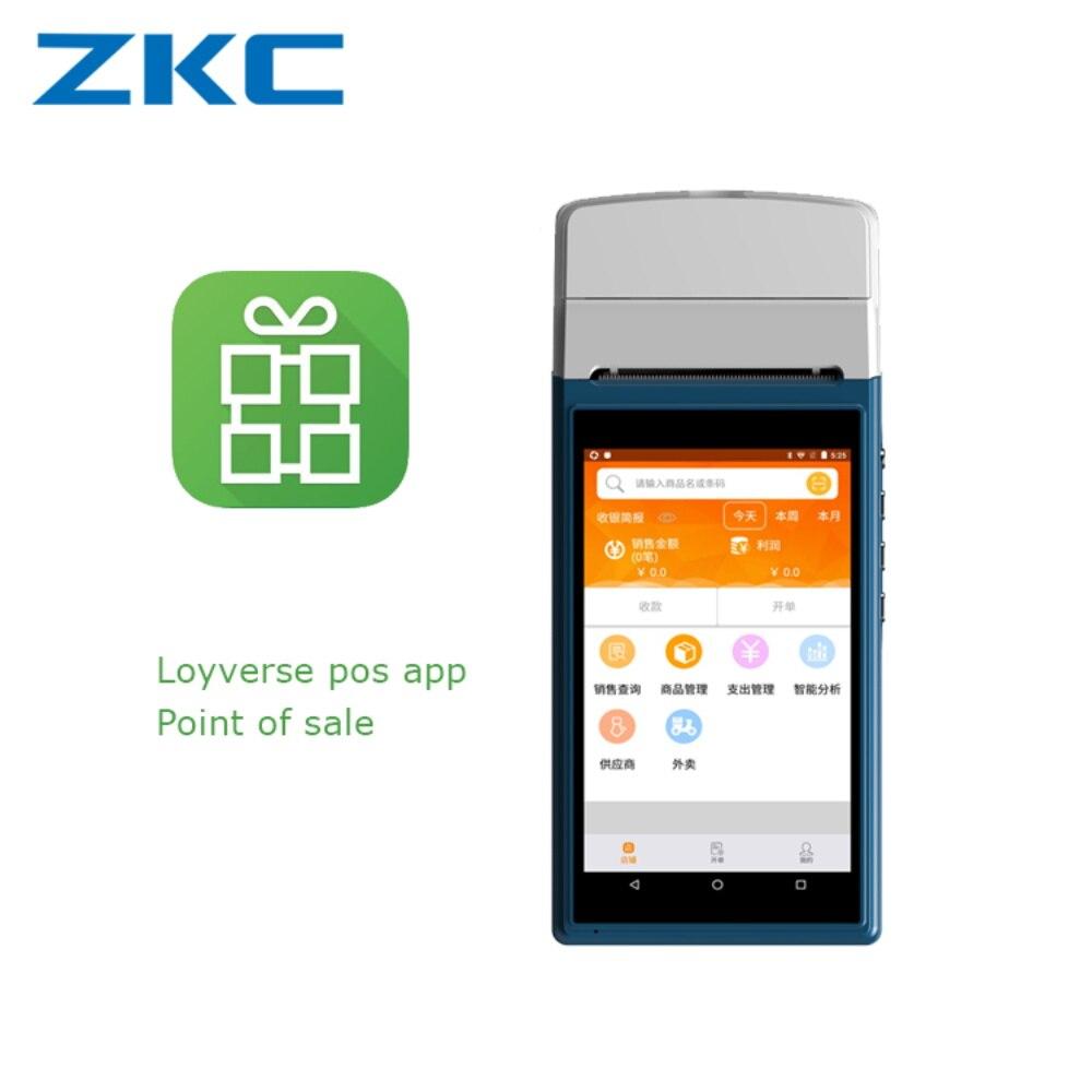 Büroelektronik Stetig Handheld Mini Abrechnung Drucker Pos-terminal Mit Qr Code Scanner Suppport Nfc Rfid Reader Seien Sie In Geldangelegenheiten Schlau