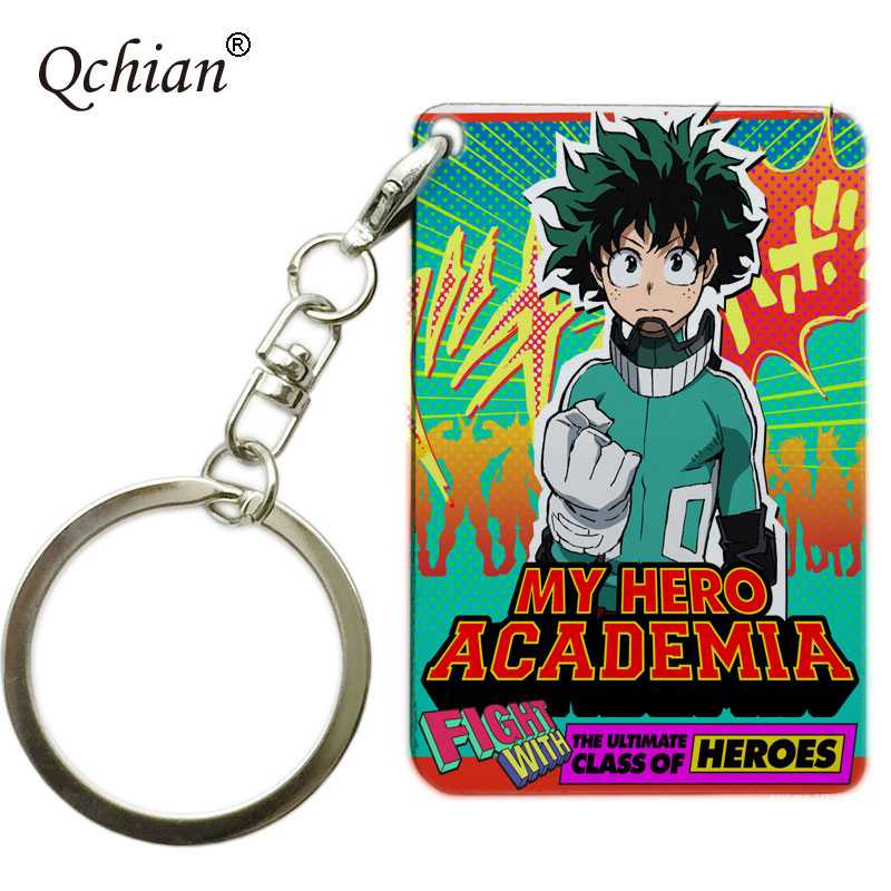 My Hero Academia Keychain Boku no hero academia Key Chians pendant gift Llavero Chaveiro jewelry accessories Llavero Chaveiro