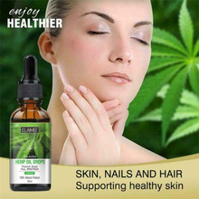 Hot 30ml Organic Essential Oil Bio-active Hemp Drops 2000mg Herbal Body Relieve Stress Help Sleep Massage