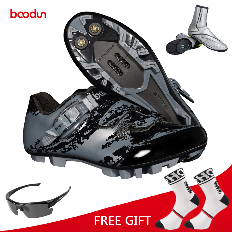 Boodun Cycling Shoes Men Bike Shoes Breathable MTB Non Slip Bicycle Shoes Athletic Racing sapatilha ciclismo