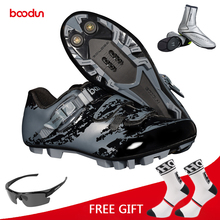 Boodun Cycling Shoes Men Bike Breathable MTB Non Slip Bicycle Athletic Racing sapatilha ciclismo Self-Lock Sneakers