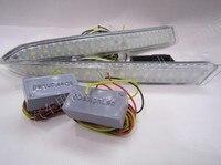eOsuns LED daytime running light DRL for ford kuga escape Maverick 2013, 2014, 2015, 2016, blue night light, wireless switch