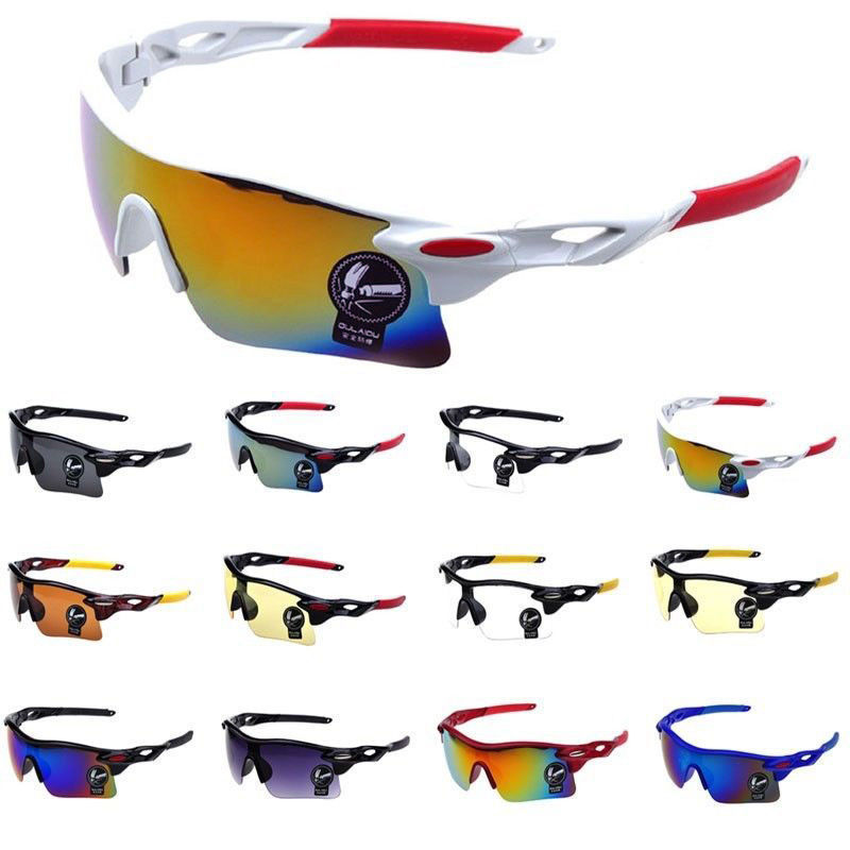Cycling Eyewear Unisex Outdoor Sunglass UV400 Riding Sports Sunglasses Glasses Bike Windproof Sandproof Polarized Goggles 2019