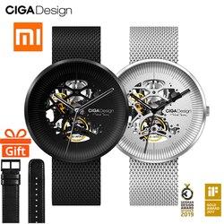 NUOVO Per Xiaomi CIGA Design MY Serie degli uomini di smart watch orologio Automatico Orologio Meccanico Scavato-out Degli Uomini Orologio Da Polso smartwatch