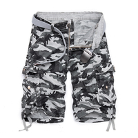 Camouflage Loose Cargo Shorts Men Cool Camo Summer Short Pants Hot Sale Homme Cargo Shorts Plus