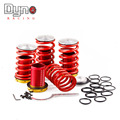 Dyno racing car ajustable kit de suspensión coilover muelles para honda civic 88-00 red disponible