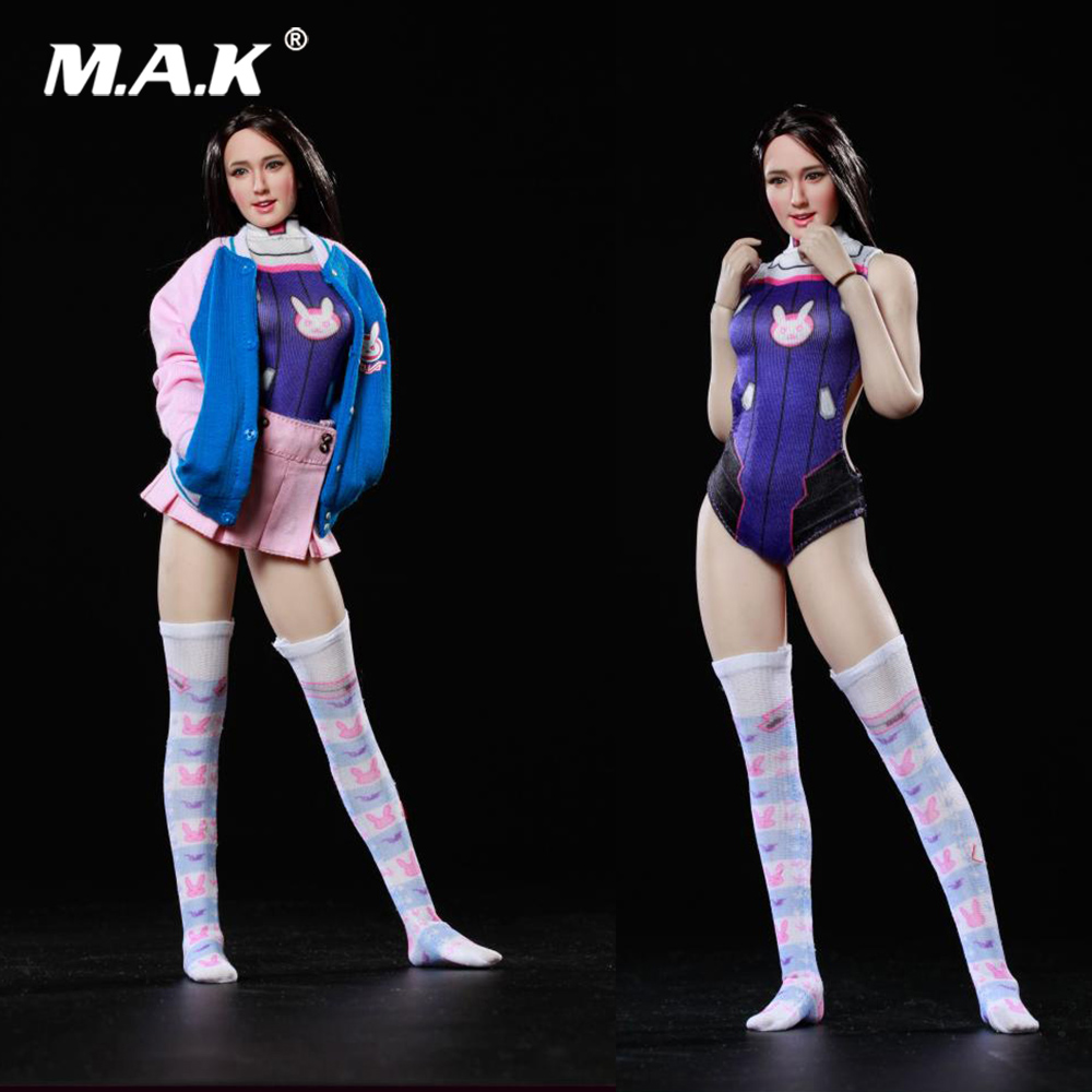 DV-01 1/6 Scale Female Clothes Set Sexy E-sports BABY Clothing Set Model for 12 '' Woman Action Figure Body Accessory fgc2017 39 40 41 1 6 scale sexy female clothes roller girl head and clothing set for 12 ph doll action figure