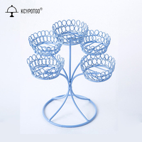 5 cup Simple style cupcake stand, Wedding decoration and Birthday party the shape of the tree cake stand