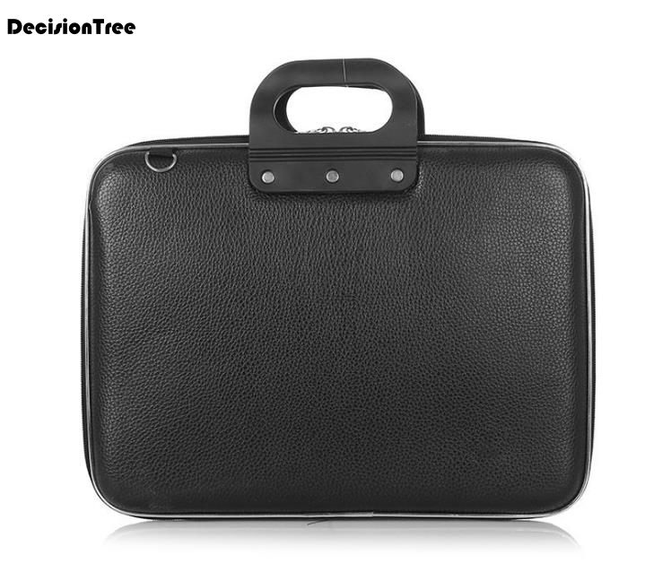 Top Sale Fashion Men Business Simple Briefcase Solid Famous Brand Male Shoulder Bag Laptop Handbag PU Leather Travel Bag