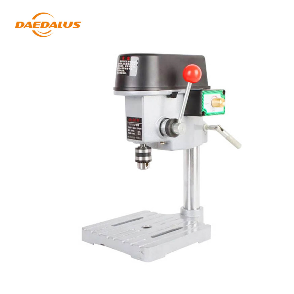 Daedalus New Bench Drill Machine 150W 220V Drill Press Mini Machine DIY Tool for CNC Engraving Woodworking Machine