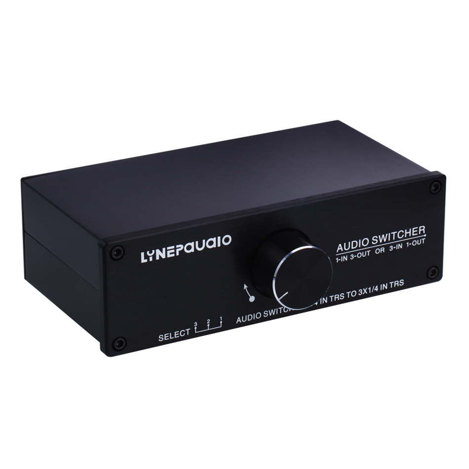 1 Input 3 Out Put Or 3 Input 1 Output Audio Switcher Passive Preamp Stereo Speaker Distributor Selector