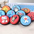 Women's Cute Cartoon Candy Color Silicone Coin Purse Key Wallet Earphone Organizer Storage Box Children's Coin Purse QB44