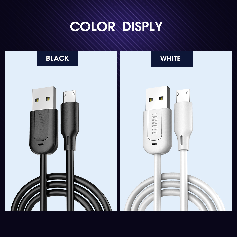 !ACCEZZ USB Data Cable For Android Micro USB For Samsung Galaxy S6 S7 Edge Xiaomi Redmi Huawei Phone Charging Long Cable Charger 3M(10)