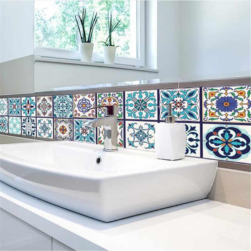 5 м наклейки на плитку поделки ПВХ самоклеющиеся настенные стикеры на обои для гостиной ванной кухни пол лестницы наклейки