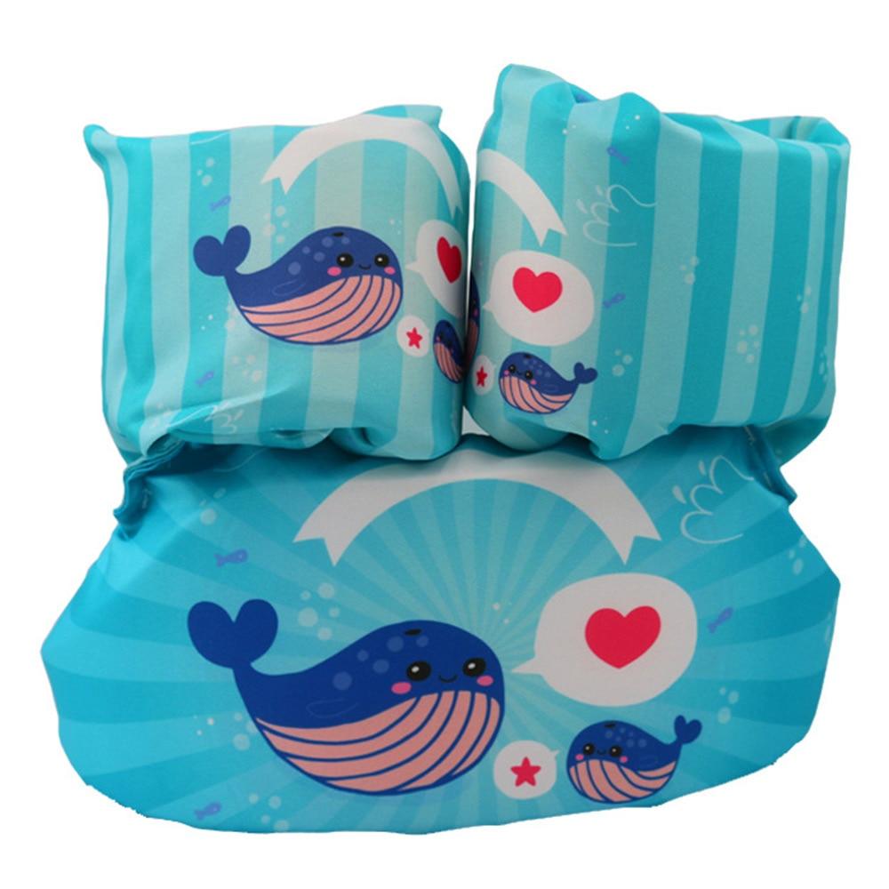 Двойные подушки безопасности надувные руки круги дети повязки картонные лампы в форме дельфинов Лебедь плавательный бассейн безопасный для воды Swimmingpoolforkid