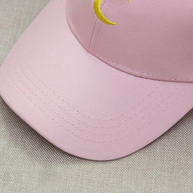 Moon Embroidery New Fashion Baseball Caps Women Men Cotton Black White Snapback Hats For Men Gorras Hombre,Casquette Femme
