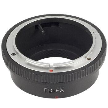 שחור עדשות מתאם טבעת עבור Canon FD FL לfujifilm פוג 'י FX X-Pro1 מצלמה מסגרת DC291