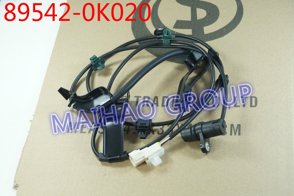 US $15 96 |Free Shipping ABS Wheel Speed Sensor Front Right 89542 0K020  895420K020 For Toyota Hilux Vigo-in ABS Sensor from Automobiles &  Motorcycles