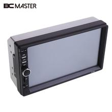 """BCMaster 7"""" HD Bluetooth Car Stereo FM Radio Music for MP3/MP5 Player Touch Screen USB/TF w/Rear Camera rearview mirror"""