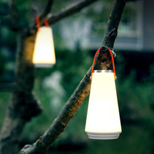 Wireless Portable Lantern Dimmable Night Light Rechargeable Lamp Touch Sensor Control Outdoor Camping With USB Charger
