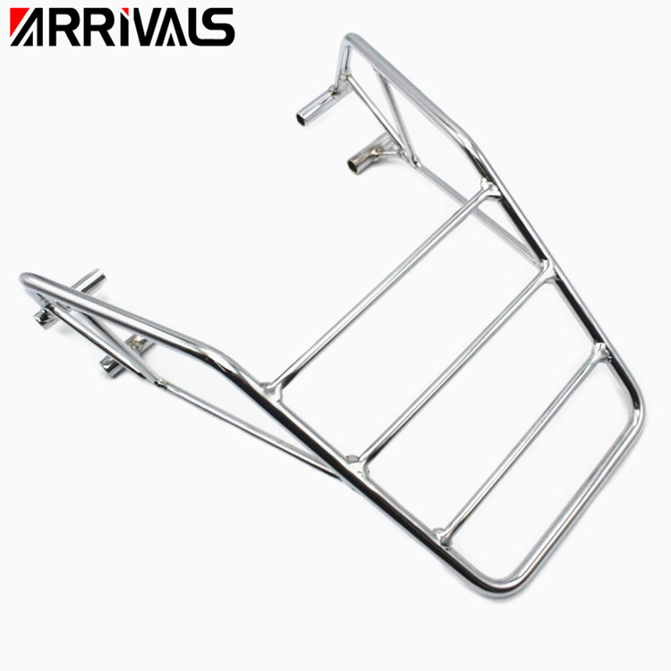Motorcycle Accessories   Rear Fender Rack Tool Box Luggage Carrier Shelf Mount Bracket Metal  For Honda Nighthawk CB 250