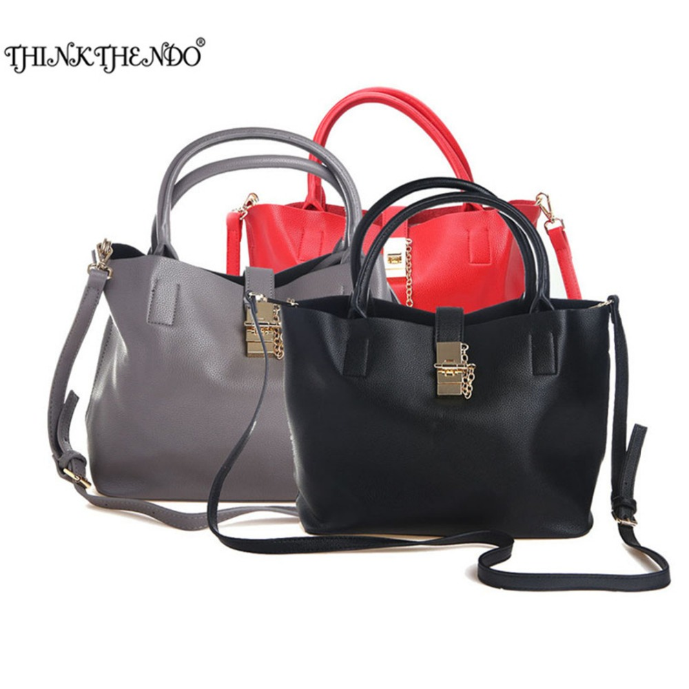 THINKTHENDO Fashion Women Designer Handbag Zipper Messenger Shoulder Bags Women Handbags of Famous Brands