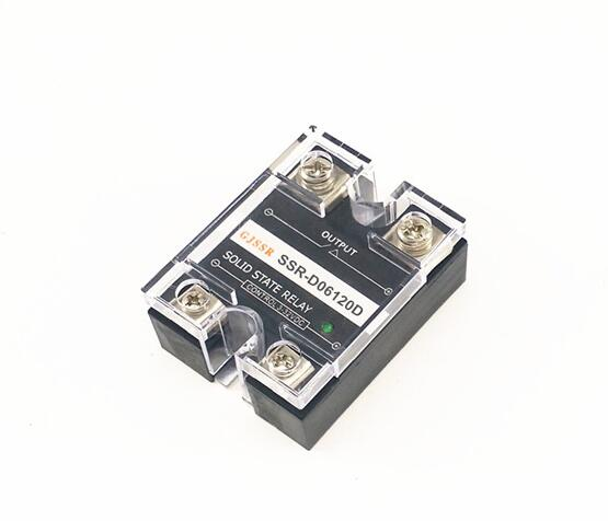Single-phase DC solid state relay SSR-DD 120A 60VDC DC-DC normally-open ssr mgr 1 d4860 meike er normally open type single phase solid state relay 60a dc ac