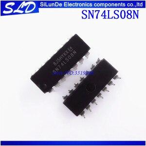 Image 1 - شحن مجاني 100 قطعة/الوحدة SN74LS08N SN74LS08 DIP14 DIP 74LS08N 74LS08 جديدة ومبتكرة في المخزون
