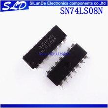 Envío Gratis 100 unids/lote SN74LS08N SN74LS08 DIP14 DIP 74LS08N 74LS08 nuevo y original en stock
