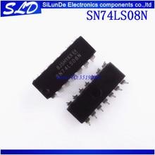 Miễn phí Vận Chuyển 100 cái/lốc SN74LS08N SN74LS08 DIP14 DIP 74LS08N 74LS08 mới và độc đáo trong kho