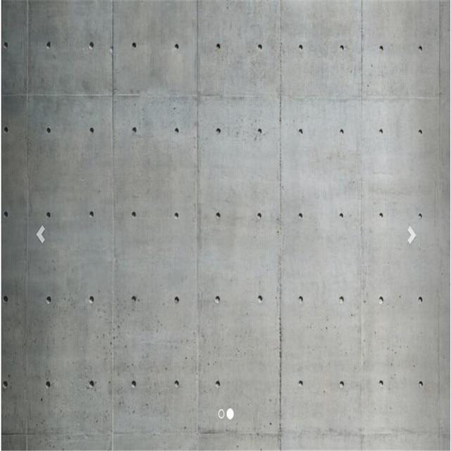 Custom 3D Wallpaper Living Room Porous Concrete Cement Wall Texture Lime Waterproofing Mural Murals 3d