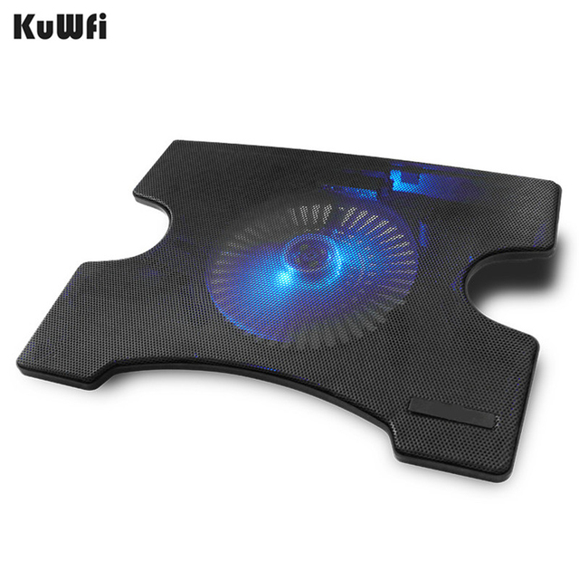 Охлаждающее устройство для ноутбука охлаждающая подставка охлаждения X подставки для ноутбуков Тетрадь PC 14 дюймов и ниже с 2 портами (стандарт 2,0 Порты и разъёмы бесшумный один вентилятор