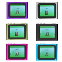 1 8 Inch TFT LCD Screen Display Fashion MP4 Player 6th Generation Music Ebook Video Movie