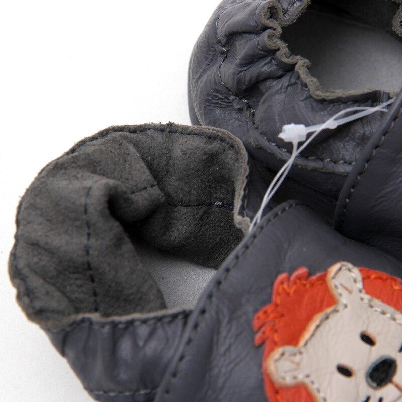 Neugeborene Leder Babyschuhe Mokassins Tier Weiche Sohle Babyschuhe - Babyschuhe - Foto 6
