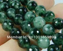 "Fashion Trendy 8mm Faceted Green Chalcedony Loose Beads Round Sugilite Natural Stone Fitting Accessory Parts 15"" WHOLESALE PRICE"