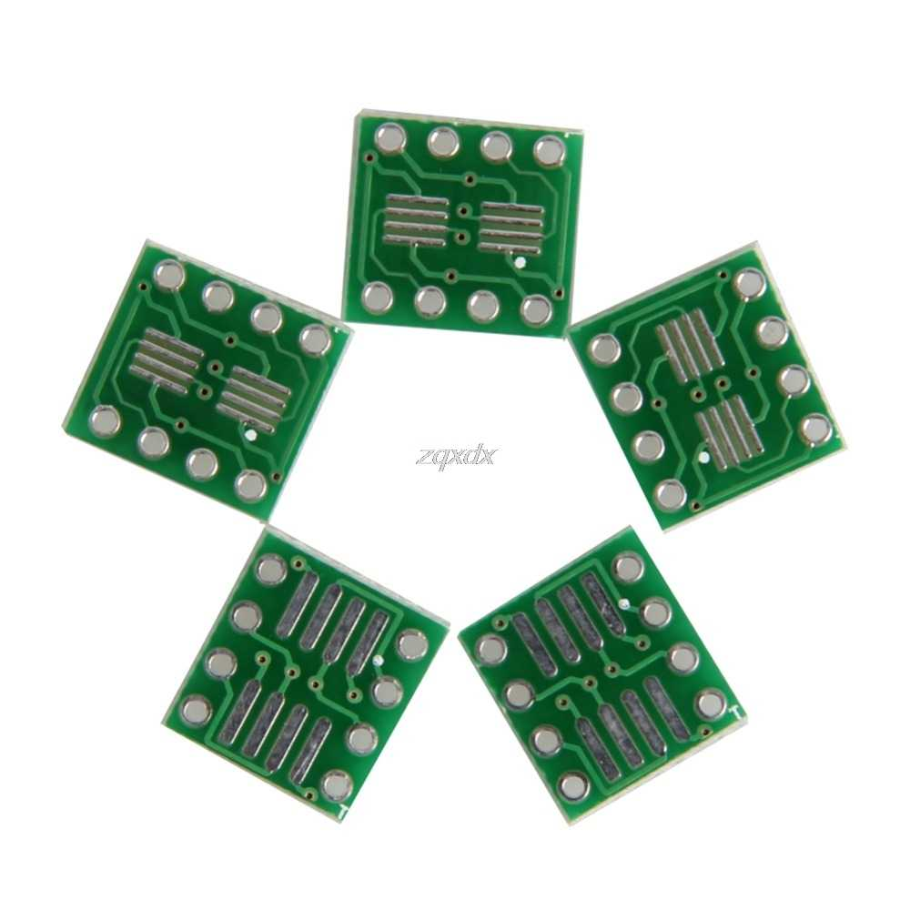 5Pcs Sop8 DIP 8 Transfer Converter บอร์ด PCB อะแดปเตอร์ 8 PIN Drop Ship