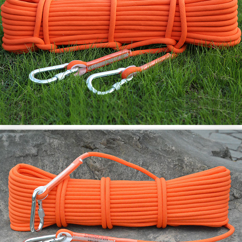 15M Military Climbing Rope Paracord Parachute Cord Lanyard Mountain Climbing Accessories Outdoor Tools Survival Equipment