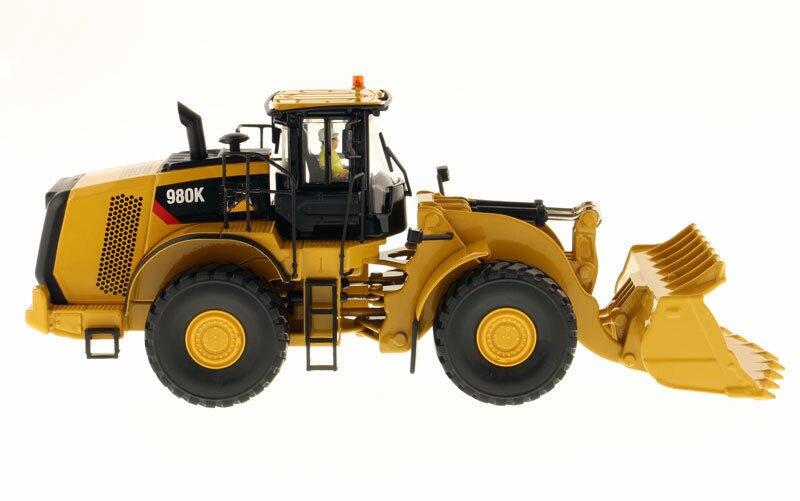 Детские игрушки 1/50 весы строительные машины 980 K колесный погрузчик рок конфигурация Высокая линия изготовление литьем модель автомобиля - 4